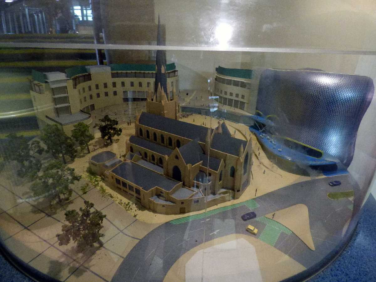 Model of St Martin's Square